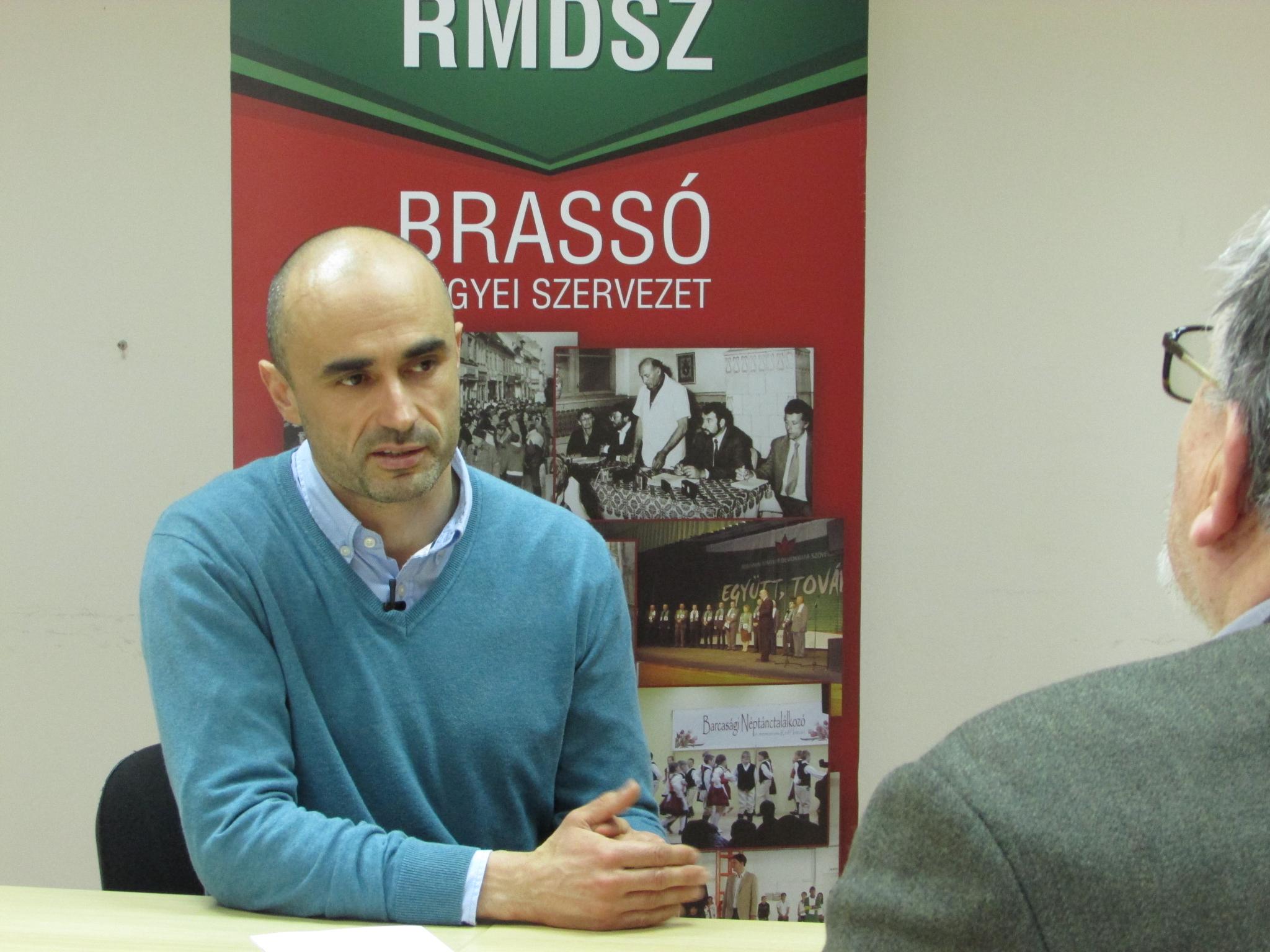 Interjú Kovács Attilával az április 15-ei Brassai Magyar Adásban