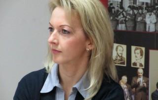 Tóásó Imelda, az RMDSZ Brassói szervezetének elnöke és megyei tanácsos, 2016