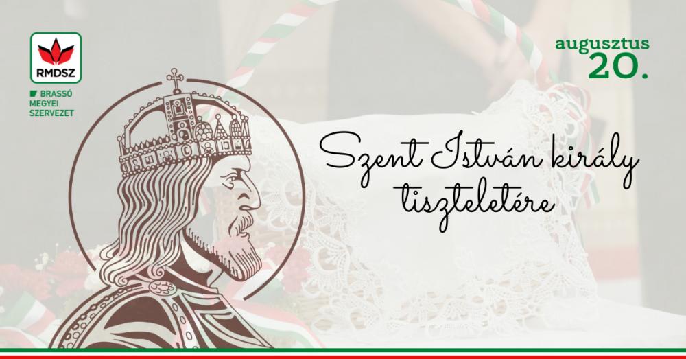 Megemlékező ünnepség Szent István király tiszteletére