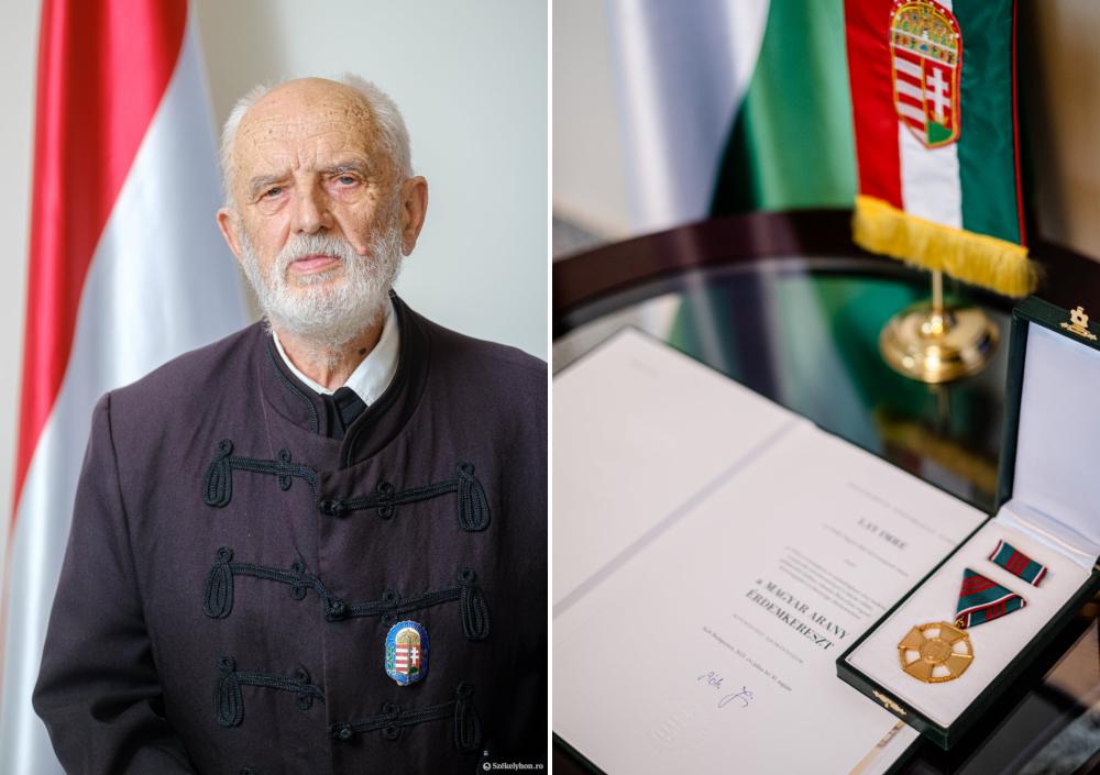 A Magyar Arany Érdemkereszt kitüntetésben részesült Lay Imre