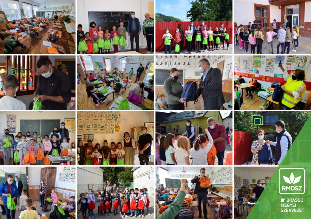 Idén is közel 600 magyar kisdiák részesült tanszercsomagban